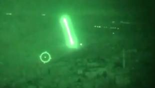 Afrin'de helikopterler YPG hedeflerini böyle vurdu
