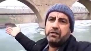 İlk defa şelale gören adam tarihi köprü görürse
