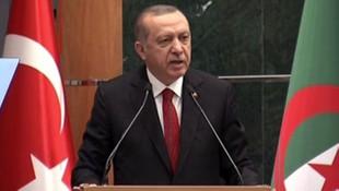 Erdoğan Cezayir ile ticaret hacmi hedefini açıkladı