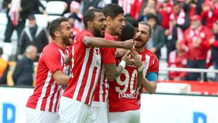 Antalyaspor'dan gol şov !