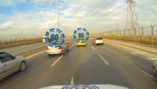 Sürücüler dikkat ! EDS'den ceza yağıyor; 1 ayda 50 bin ceza...