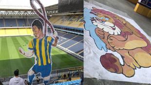 Fenerbahçe'nin koreografisi medyaya sızdı !
