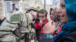 ''Türk askerini görünce kurban kestik''