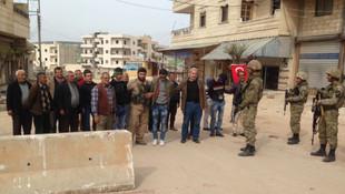 TSK açıkladı ! Afrin'de 18 terörist halk tarafından yakalandı