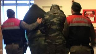 Sınırda tutuklanan 2 Yunan askerin üzerinden kroki çıktı