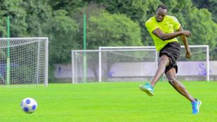 Usain Bolt ilk golünü attı !