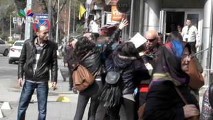 İki grup birbirine girdi ! Polis zor ayırdı
