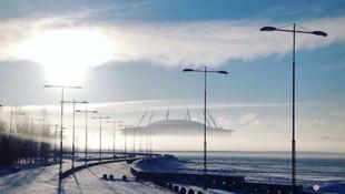 Zenit'in stadyumu hayran bıraktı !