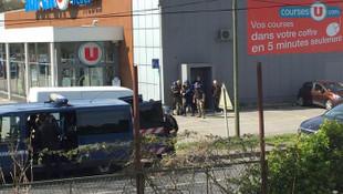Fransa'da süpermarkete DEAŞ saldırısı ! Ölü ve yaralılar var