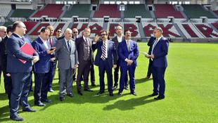 Diyarbakır Stadyumu finale hazırlanıyor !