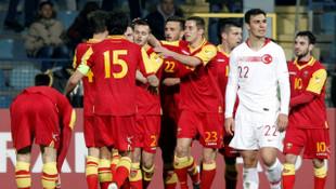 Karadağ -Türkiye: 2 - 2