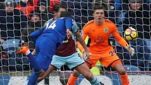 Cenk Tosun Premier Lig'de ilk golünü attı
