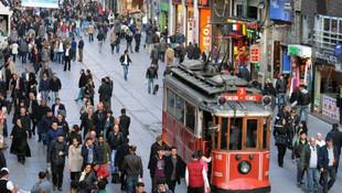 Taksim'de dilenci dehşeti ! Küçük kızı tramvaydan attılar