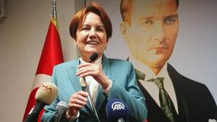 Akşener: ''İYİ Parti'yi seçime sokmazlarsa anne terliği fırlatırım''