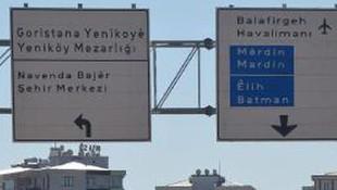 Diyarbakır'daki Kürtçe tabelalar söküldü mü ?