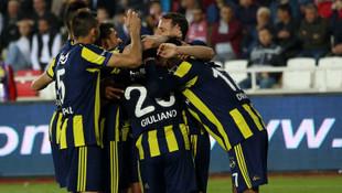 Sivasspor - Fenerbahçe: 1-2