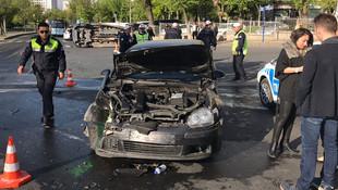 Askeri personeli taşıyan araç kaza yaptı: 3'ü asker 5 yaralı