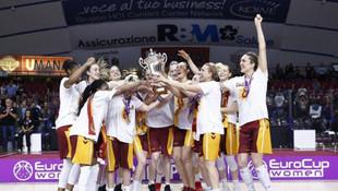 FIBA EuroCup şampiyonu Galatasaray !