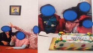 Çocuklara PKK pastasını üfleten hainler yakalandı