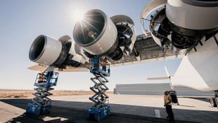 Dünyanın en büyük uçağı için geri sayım başladı