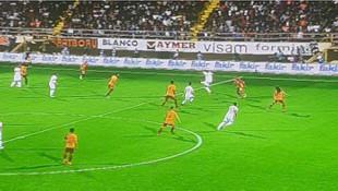 Alanyaspor - Galatasaray maçında tartışma yaratan pozisyon