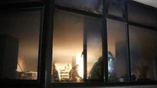 İstanbul'un ünlü hastanesinde korkutan yangın !
