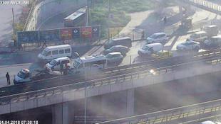 İstanbul'da sabah şoku ! Trafik adım adım...