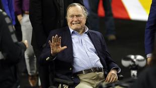 Bush yoğun bakımda