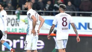 Trabzonspor'da Jose Sosa gönderiliyor !