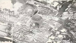 Teröristlerin havaya uçurduğu tarihi cami ayağa kalkıyor