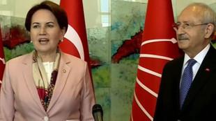 Kılıçdaroğlu ile Akşener'den ortak açıklama