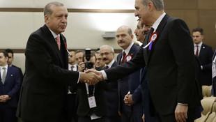 Erdoğan ile Kılıçdaroğlu tokalaştı
