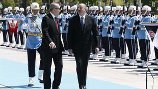 Erdoğan'dan Aliyev'e büyük jest