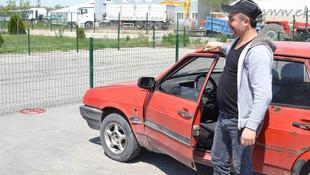 Aracını muayeneye götürdü büyük bir şokla karşılaştı