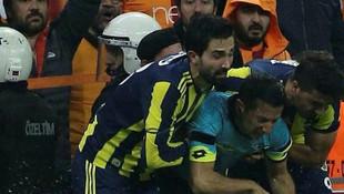 Derbide hakemi yaralayan taraftarın cezası açıklandı
