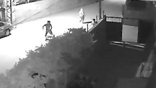 Hırsız kovalamaca böyle görüntülendi !