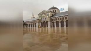 Şam'da sel felaketi