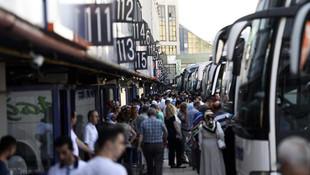 ''Otobüs biletleri tükendi, ek seferler konulacak''
