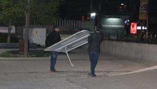 1 Mayıs öncesi Taksim Meydanı'na kuşatma