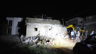 İki katlı evde patlama: 1 ölü, 9 yaralı