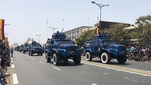 Senagel'de Türk zırhlıları ilk kez kullanıldı
