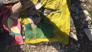 Türbeyi terörist mezarlığına çevirmişler