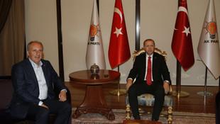 İnce, Erdoğan ile görüşmesinde neden kravat takmadı ?