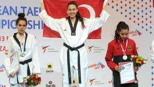 Müthiş zafer ! İrem Yaman Avrupa şampiyonu !