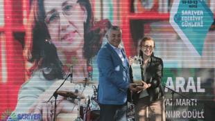 Beyaz Martı Edebiyat Onur Ödülü İnci Aral'ın