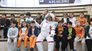 Bilim meraklısı çocuklar Küçükçekmece'de buluştu
