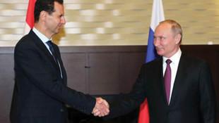 Putin, Beşar Esad ile görüştü