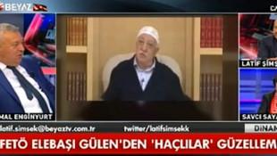 Canlı yayında Gülen'e böyle seslendi: ''Lan sümüklü, lan puşt!''