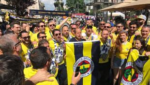 Belgrad'da Fenerbahçe coşkusu !