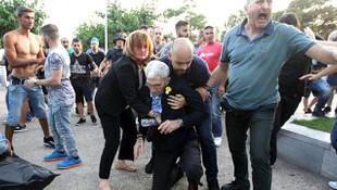 Selanik Belediye Başkanı'na çirkin saldırı